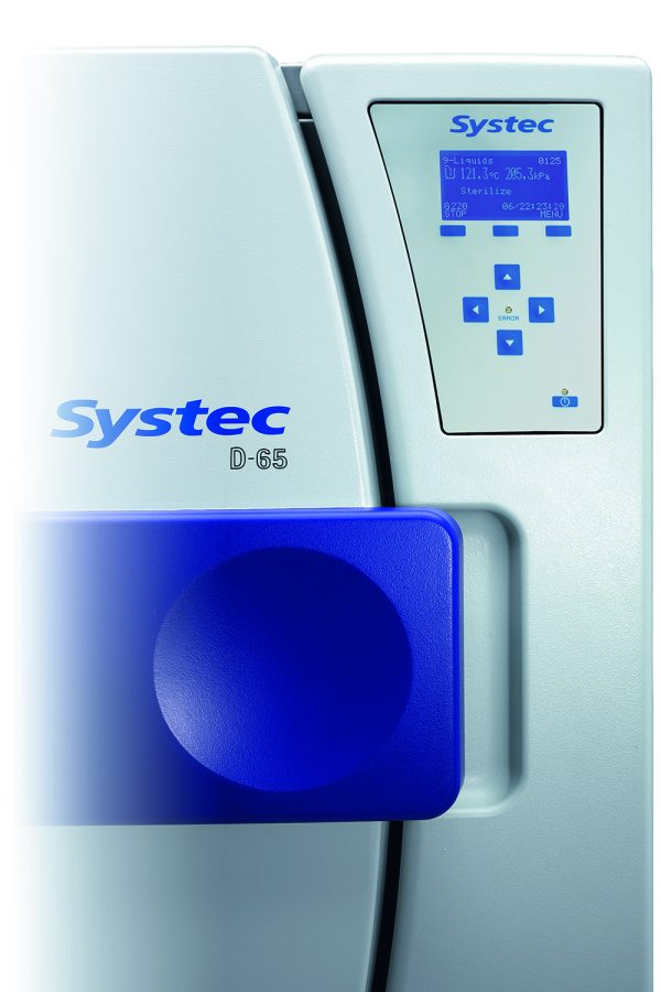 Systec Horizontal Bench-Top Autoclave