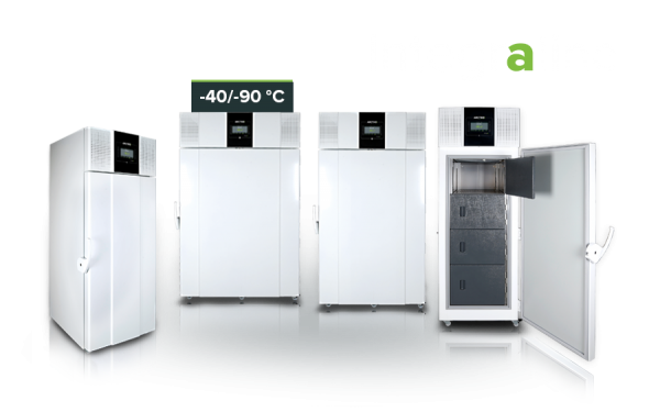 Ultra Low Dual Cooling System Freezer